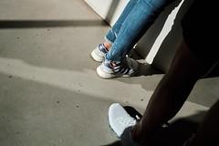 Three stripes ③ (Rob₊Lee) Tags: aesop boost iniki adidas trendy fashion light shadows leg shoe sneaker sun floor ground