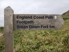 England Coast Path, Brean Down Fort 1m (Dugswell2) Tags: englandcoastpath breandownfort1m