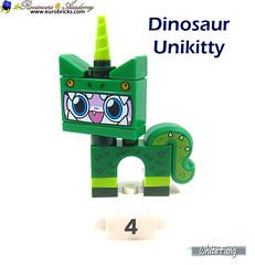 4) Dinosaur Unikitty (WhiteFang (Eurobricks)) Tags: lego bind bags unikitty series 1 brick built animals kitty puppy box colourful vibrant sunshine cheerful fun pink