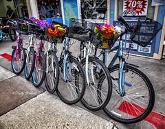 The Bikes of Mackinac Island (kweaver2) Tags: kathyweaver mackinacisland michigan mi lakehuron bike bikecycles
