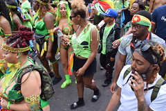 DSC_8190 Notting Hill Caribbean Carnival London Exotic Colourful Green Costume Girls Dancing Showgirl Performers Aug 27 2018 Stunning Ladies (photographer695) Tags: notting hill caribbean carnival london exotic colourful costume girls dancing showgirl performers aug 27 2018 stunning ladies