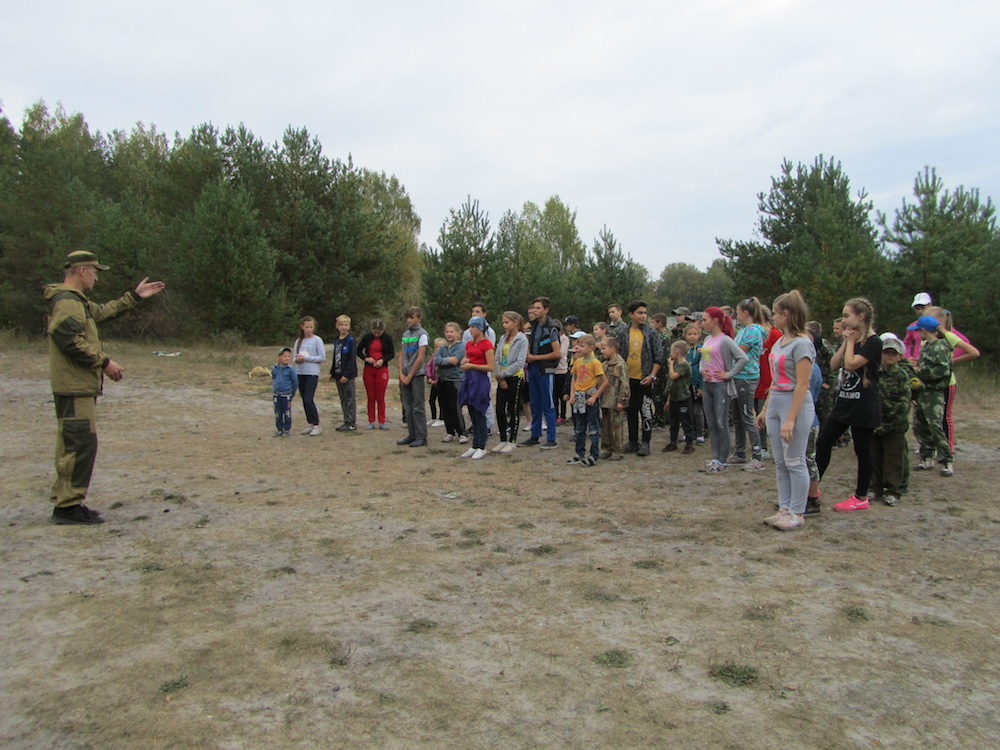 Осенний поход воспитанников НПО во имя Дмитрия Донского