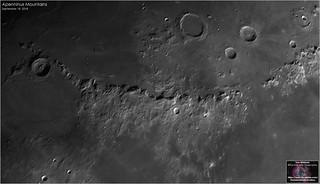 Montes Apenninus - September 18, 2018
