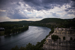 Overlook (Jim Nix / Nomadic Pursuits) Tags: austin burnside jimnix lensbaby nomadicpursuits pennybackerbridge