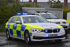 VX18 BXE (S11 AUN) Tags: west mercia police bmw 530d estate touring anpr operational patrol unit opu traffic car rpu roads policing 999 emergency vehicle vx18bxe