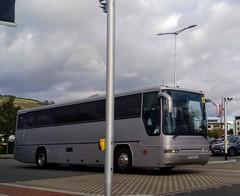 Cymru Coaches (Woolfie Hills) Tags: silver plaxton mod coach swansea cymru coaches cymrucoaches at51cvs cvs at51