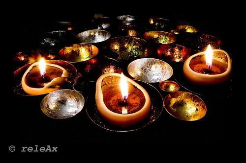 X-MAS candles