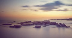 Atardecer en Carnota (Juan Figueirido) Tags: longexposure ndfilter praiadecarnota carnota costadamorte galicia