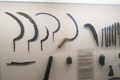 Collection of medieval farm tools (quinet) Tags: 2017 antik copenhagen danishnationalhistorymuseum ancien antique museum zealand denmark 208