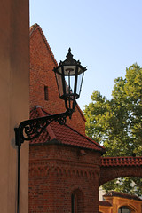 IMG_3188 (Joan van der Wereld) Tags: wroclove wroclaw wrocław poland polen polska breslau street lamp vintage old red brick dominsel cathedral island gothic neogothic ostrów tumski