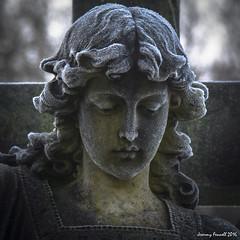 Frosted Angel Arnos Vale Cemetery Dec 2016 (zolaczakl) Tags: decemberinarnosvalecemetery arnosvalecemetery december nikond7100 nikonafsnikkor24120mmf4gedvrlens uk england statues angels frost photographybyjeremyfennell jeremyfennellphotography bristol brislington