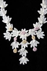 Jewelry by Elsie Pereira Waite (madampince) Tags: epw artwork jewelry 1970s jww faience glass beads tucson arizona craftsman bodyornaments arizonadesignercraftsmen tucsoncraftguild elsiepwaite johnwwaite elsiepereirawaite johnwebsterwaite 1960s