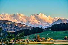 A beautiful Evening in Switzerland (*Capture the Moment*) Tags: 2018 august berge emmental kantonbern landschaften mountains schweiz sommer sonya7mark3 sonya7m3 sonya7iii sonyfe70200mmf28gmoss sonyilce7m3 summer switzerland valleyemmental