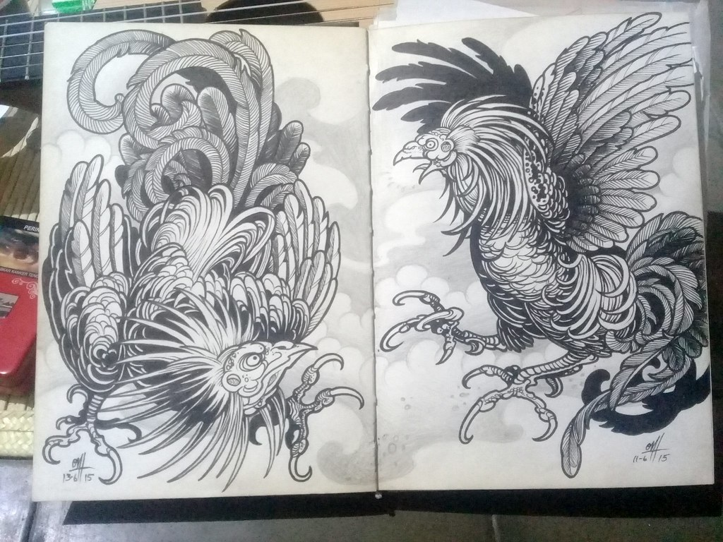 800dfe14e The World's Best Photos of rooster and tattoo - Flickr Hive Mind