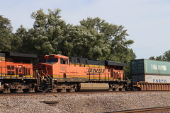 58880 (richiekennedy56) Tags: bnsf c449w es44dc bnsf4646 bnsf7620 camden missouri raycountymo railphotos unitedstates usa