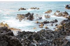 Hawaii (Eric Dewar Photography) Tags: hurricane lane amazing wow crazy hawaii big island hilo kauai honolulu fly air canada polynesia grocery food fruit kona bike water surft rock low slow exposure nd filter nikon wide angle colourful colorful soft waves rocky rocks