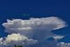Boom! (oybay©) Tags: clouds monsoon arizona suncitywest cloudy sepia cumulonimbus incus nature azfamily azcentral cloud