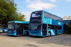 1559 HF63JNF (PD3.) Tags: 1559 hf63jnf adl enviro 400 unilink 2011 go ahead goahead group gsc south coast eastleigh hampshire england uk bus buses psv pcv barton park hants dorset bluestar
