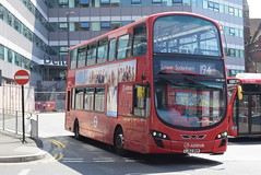 AL DW501 @ West Croydon bus station (ianjpoole) Tags: arriva london vdl db300 wright pulsar gemini lj62bkn dw501 working route 194 west croydon bus station bell green lower sydenham