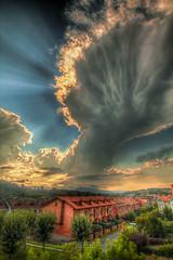 EKAITZA 1 (juan luis olaeta) Tags: paisajes landscape cielos sky hdr tormenta