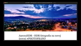 REVIEW: AuroraHDR - HDR fotografia na novej úrovni PHOTOFRANO