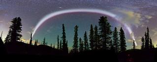 Brightest #Steve Arc Panorama