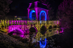 bridge of colours (Blende1.8) Tags: bridge oldbridge castlegarden schlosspark schlospark schlossgarten nacht night nachtaufnahme nightshot nightscape reflection reflections spiegelung wasser water colours colors colourful colorful illumination illuminated illuminiert parkleuchten lichterfest schlossdyck schlos schlosdyck lights lichter lightsindarkness sony alpha ilce7m3 sel24105g 24105mm germany deutschland rheinland niederrhein carstenheyer a7m3 a7iii