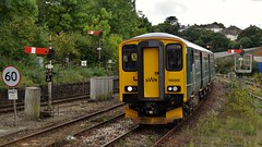 First GWR. 150265. (Drive-By Photography) Tags: first gwr 150265 train truro cornwall