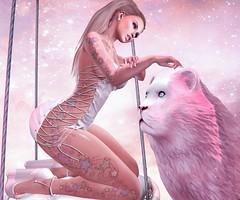 Pink Lionheart (nannja.panana) Tags: blackbantam arcade birth cncreations candydoll catwa collabor88 ikon kinkyevent letre letistattoo maitreya nannjapanana stealthic visionsf zerkalo secondlife