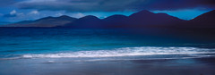 The Moods of Rosamol (CactusD) Tags: rosamol texture light blue mood mountains luskentyre losgaintire traighrosamol beach scotland harris isleofharris outerhebrides hebrides sea greatbritain great britain epson epsonv850 v850 silverfast uk unitedkingdom gb landscape film fuji fujichrome velvia velvia50 5x4 4x5 largeformat large format linhof technikardan tks45 s45 schneideraposymmarmc150mmf56 150mm f56 schneider aposymmar
