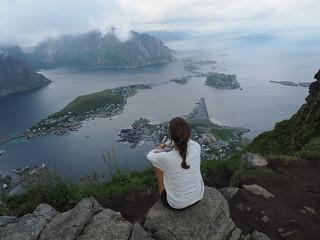 Reinebringen. Lofoten. Norway