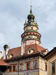 CASTLE TOWER (PHOTOGRAPHY|bydamanti) Tags: českýkrumlov southbohemiaregion czechrepublic cz castletower europe iphonex