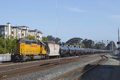 Sunday Morning Local (imartin92) Tags: emeryville california unionpacific railroad railway freight train locomotive emd sd402