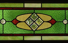 Kirkland House Window (the mindful fox) Tags: stainedglass window stainedglasswindow ladnerbc ladner kirklandhouse