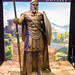 Hoplit-Statue am Messestand von Assassin's Creed Odyssey