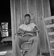 Son of an illiterate sharecropper. He wants a high school education. Near Earle, Arkansas. July 1936. (polkbritton) Tags: arkansashistory 1930s africanamericanhistory ruralamerica greatdepression dorothealange fsaowi libraryofcongresscollections