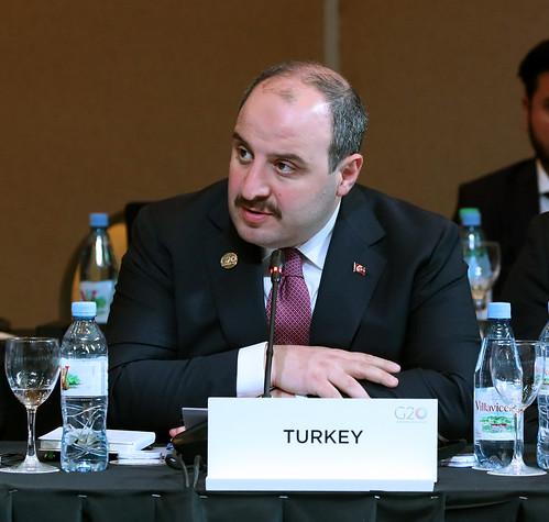 Mustafa VARANK, Ministro de Industria y Tecnología de Turquía - Reunión ministerial de Economía Digital