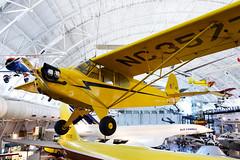 Piper J-3 Cub, NASM (Ian E. Abbott) Tags: piper j3 cub nc35773 generalaviation aircraft stevenfudvarhazycenter udvarhazy nationalairandspacemuseum nasm