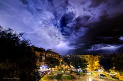 Perfect Storm (franlaserna) Tags: sound cityscape city nightphotography night lights lightning storm