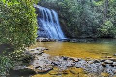 Silver Run Falls, Cashiers, NC (mtm2935) Tags: pool hike valley sapphire highlands northcarolina cashiers landscaè scenic natural nature cascada water waterfall