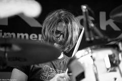 Blues for Friends - Ron (vmonk65) Tags: bw blackwhite blackandwhite drum drummer schlagzeug konzert blues nikon nikond810