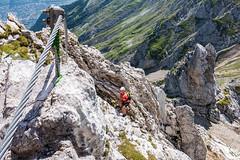 Frau Hitt (Bergfex_Tirol) Tags: bergfex österreich oesterreich austria tirol tyrol alpen alps gebirge mountains sport mountaineering klettern climbing abenteuer adventure innsbruck klettersteig fixed rope route via ferrata karwendel nordkette schmidhuber hitt
