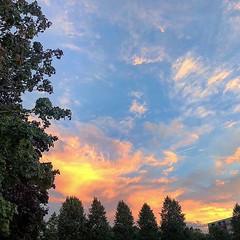 Last #evenings of #summer #skies on #fire (seejake) Tags: ifttt instagram last evenings summer skies fire