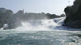 Rheinfall rhine falls Switzerland