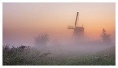 One of those mornings (Rob Schop) Tags: ochtend morning zonsopkomst grootammers landscape sunrise sigma30mm14 sonya6000 mist windmill nederland fog a6000 molens prime outdoor