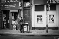 The Chain Smoker (Cycling-Road-Hog) Tags: beard blackwhite candid canoneos750d citylife colour edinburgh man monochrome niftyfifty people places scotland smoke smoking street streetphotography streetportrait style urban