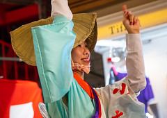 Japanese woman with straw hat during the Koenji Awaodori dance summer street festival, Kanto region, Tokyo, Japan (Eric Lafforgue) Tags: adult amigasa armsraised artscultureandentertainment asia awadancefestival awaodori capitalcities celebration colorimage cultures dance dancing enjoyment event festival headwear horizontal japan japan18415 japaneseculture kantoregion koenjiawaodori koenjiren night oneperson onewomanonly outdoors performance performancegroup performer photography ren strawhat street togetherness tokyo traditionalclothing traditionalfestival traveldestinations women yukata jp