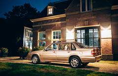 Volvo 960 3.0 24V (Rick Bruinsma) Tags: raalte autotechniek hooftman original spec us leather 24v 30 beige holland netherlands volvocars leusden s90 940 960 volvo car road grass tree building