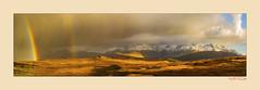 Belting Light (The Terry Eve Archive) Tags: mountain cuillin blackcuillin redcuillin rain skye isleofskye weather extreme wild rugged heather bracken hills moor rainbow