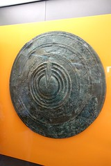 Bronze Shield (demeeschter) Tags: greece delphi archaeological heritage historical ruins unesco parnassus mount ancient oracle museum art theatre stadium temple apollo